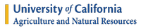Univeristy of California Agriculture & Natural Resources Logo